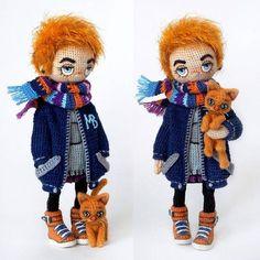 Well, another collage will not hurt- Ну ладно, ещё один коллаж не помешает Well, another collage will not hurt - Crochet Doll Tutorial, Crochet Doll Pattern, Crochet Patterns, Crochet Amigurumi, Amigurumi Doll, Amigurumi Patterns, Knitted Dolls, Crochet Dolls, Crochet Yarn