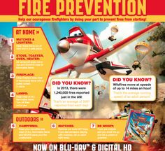 Family Fun From Planes: Fire & Rescue Fire Safety For Kids, Disney Planes, Fire Prevention, Free Fun