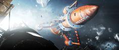 Spacewalk. by Chrisofedf Fan Art / Digital Art / 3-Dimensional Art / TV & Movies