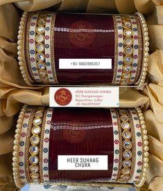 Indian Bridal Outfits, Indian Bridal Fashion, Wedding Jewelry Sets, Bridal Jewelry, Jewelry Art, Wedding Chura, Wedding Lehenga Designs, Bridal Chuda, Bridal Lehenga Collection