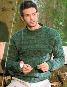 Verena Knitting Magazine – Top European Knitting Fashion - Patterns - Men patterns to purchase for all genres but quite a few men's patterns which I find hard to find!