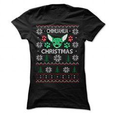 Merry Chihuahua Christmas Standard College Hoodie