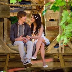 High school musical <3 Troy & Gabriella again...