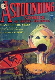 Astounding Stories of Super-Science: February 1930 These magazines are downloadable for free from gutenberg.org They are a lot of fun to read. They were written in the 1930's.