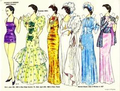 Wallis Simpson - Duchess of Windsor | Gabi's Paper Dolls