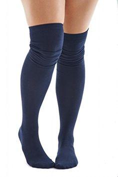 Sexy Legs Thigh High Socks Navy Blue Over The Knee 70% Cotton Womens One Size Sexy Legs http://www.amazon.com/dp/B00OQEFIS0/ref=cm_sw_r_pi_dp_T9rxub0AQ1TPQ