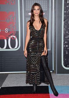 La modelo en un total look de Altuzarra para los MTV Video Music Awards 2015