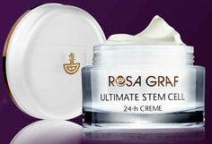 Plant stem cells for longer-lasting youthful skin   ROSA GRAF cosmetics with stem cell technology  This 24 gel-creme prolongs the youthful vitality of the skin with the help of natural stem cell extracts of the Alpine Rose as well as special active substances that protect the skin's own stem cells. Vitality, moisture and pampering care for a longer beautiful and youthful skin.   A new generation of ROSA GRAF cosmetics at The Spa 411