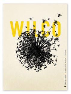 Wilco poster    Designspiration — Alvin Diec » ISO50 Blog – The Blog of Scott Hansen (Tycho / ISO50)
