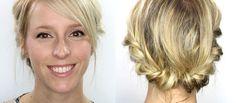 https://www.youtube.com/watch?v=V4CRK46jMLA Vous me demandez souvent un tutoriel coiffure facile pour les cheveux courts... eh bien, voilà ! ;) Je n'ai pas