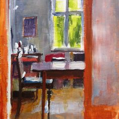 View to the Dining Room - liza hirst