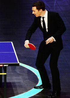 Benedict at the Laureus Sports Awards.