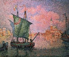 Paul Signac, Venice: Pink Cloud, 1909 #paul #signac #paulsignac #venice #venezia #italy #italia #pink #cloud #pinkcloud #france #frenchartist #frenchpainter #pointillism #pointillist #pointillistpainter #pointillistartist #art #artist #artlover #arthistory #painter #painting #