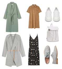 """""""Untitled #6"""" by jkopossova-1 on Polyvore featuring Vanessa Bruno, Golden Goose, Aéropostale, MANGO and Gap"""