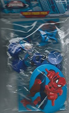 Marvel Ultimate Spiderman Party Favor Pack >>> Check out the image by visiting the link.Note:It is affiliate link to Amazon. #tagblender