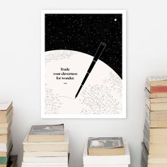 RUMI Literary Poster, Minimalist Literary Art Print, Bookworm Gift for Reader, English Major Gift for College Student, Wanderlust Art by ObviousState on Etsy https://www.etsy.com/listing/99387242/rumi-literary-poster-minimalist-literary