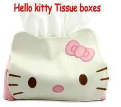 Hello Kitty PU leather tissue box/wedding decoration/car accessories Free Shipping on AliExpress.com.