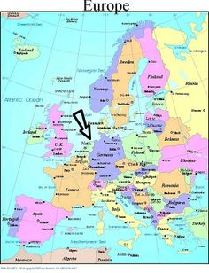 Map of Netherlands in Europe   Life in the Netherlands: (in general)   Business News, Articles ...