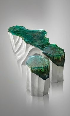 New Stone and Acrylic Glass Furniture Brings the Beauty of Nature Indoors- Eduard Locota DelMare Contemporary Furniture Collection Eduard Locota DelMare Contemporary Furniture Collection Acrylic Furniture, Glass Furniture, Plywood Furniture, Furniture Ideas, Furniture Design, Outdoor Furniture, Art Deco Design, Furniture Collection, Contemporary Furniture