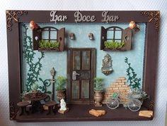 """QUADRO LAR DOCE LAR <br> <br>Nosso jeitinho de decorar e combinar as cores em casa são consideradas símbolo de boas vindas <br>Deixe a alegria das cores entrar na sua casa! <br> <br>Também pode ser uma Belíssima Sugestão de Presente como! <br>Aniversario ... Amigo ... Casamento ou Ocasião Especial <br> <br>"""" Orçamentos ou duvidas estamos a disposição """""""