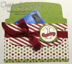 Envelope Liner Framelits Gift Card Holder, SU, Christmas Tagables Photopolymer stamp set, by Wendy Lee, #creativeleeyours, Stampin Up!,