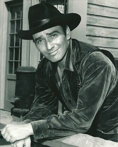 James Drury, The Virginian. We met twice. Once when he was in the ER at the hospital where I worked in Dallas. He later told me it was the worst pain of his life- kidney stones. A nice man.