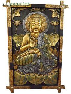 . cuadros tallados y pintados  a mano  www.balindia.es