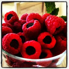 Kerri's berries! Super easy crowd-pleaser for parties. Or a nice quick dessert just for you.