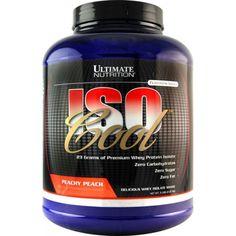 Ultimate Nutrition Iso Cool - чистейший изолят сывороточного протеина.  Спортивное питание FitKing.ru