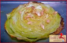 Strong and Beyond: Roasted Garlic Cabbage Steaks