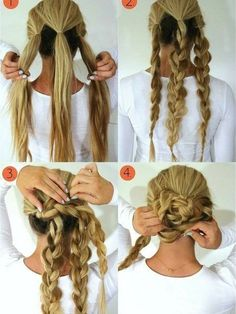 Liven Up Your Locks: 4 Braided Hair Tutorials