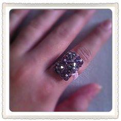 Swarovsky...  www.facebook.com/novedadess Class Ring, Facebook, Rings, Jewelry, Jewlery, Jewerly, Ring, Schmuck, Jewelry Rings