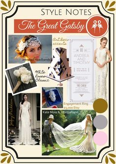 Style notes: The Great Gatsby  www.revivalrooms.com