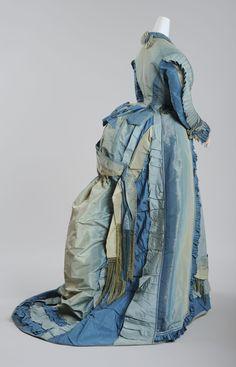 MQ Wien: Depotführungen in die Modesammlung des Wien Museum, Besuchstoilette, 1870/1873 © Wien Museum