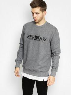 Bluza Nervous Classic Crew (grey)