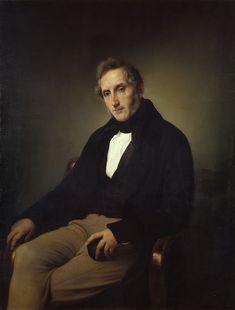 Francesco Hayez - Ritratto di Alessandro Manzoni - 1841 - Milano, Pinacoteca di Brera