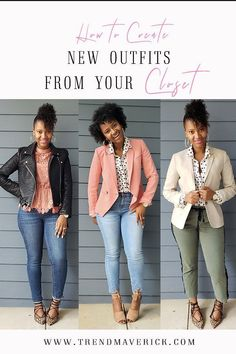 HOW TO CREATE NEW OUTFITS FROM YOUR CLOSET - TREND MAVERICK