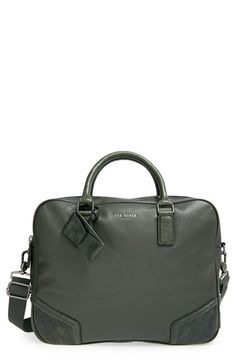 Ted Baker London 'Picton' Leather Satchel