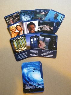 Tactics cards for my rethemed version of Battle Line (Sci-Fi Battle Line).