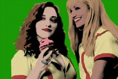 2 Broke Girls Created by Rohit Sharma. Cartoon Network Adventure Time, Adventure Time Anime, Girls Season 3, 2 Broke Girls, Nick Miller, Comedy Central, Marshall Lee, Parks And Recreation, Great Videos