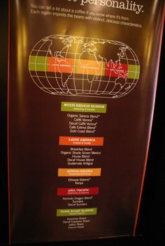 Colour Coded Map of Coffee | Flickr - Photo Sharing!