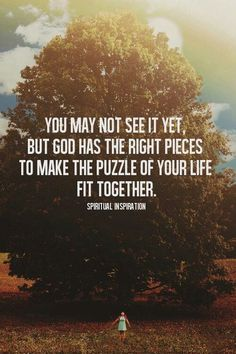 Romans 8:28. I needed to hear this :) good things are coming your way.