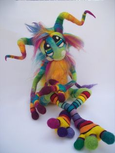 Magic Rainbow Pinwheel Goblin- by Tanglewood-Thicket on DeviantArt