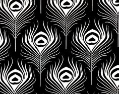 """Search for """"seedling"""" Painting Patterns, Tile Patterns, Pattern Art, Arrow Fabric, Art Nouveau, Art Deco, Peacock Art, Feather Pattern, Fabric Online"""