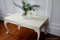 White French Coffee Table Annie Sloan by FindingSilverPennies, $125.00