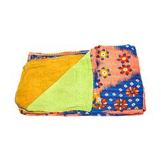 Vintage Kantha Quilt, $99, now featured on Fab. Pretty!