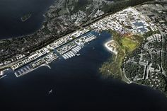 Winning Proposal for Finland Bay Masterplan Transforms Industry into Innovation