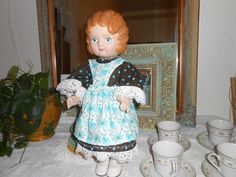 Daisy Kingdom doll with matching dress