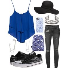 Awesome summer by jirinkaskalkova on Polyvore featuring polyvore fashion style MANGO Ksubi Converse French Connection Dorothy Perkins Uncommon