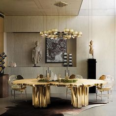 The Fortuna dining table perfect table to gather friends and family during the Holiday season. It represents the essence of sophistication and mystics, is a one of a kind design, with a unique table surface texture and an incredible finish. #bocadolobo #passioniseverything #luxuryfurniture #luxury #design #furniture #productdesign #exclusivedesign #inspirations #creativedesign #desinginspiration #homedecor #homeideas #interiordesign #interiors #holidayseason #thanksgiving